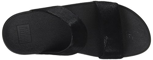Slide Suede fitflop Shimmy Black Women's Sandal qPPxFw1