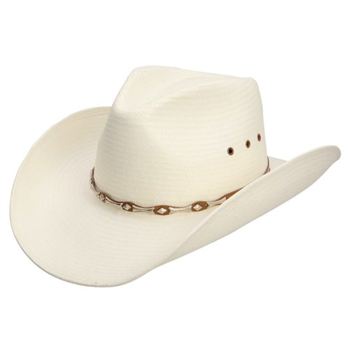 Stetson Horizon Crushable Straw Hat, NATURAL, Size LARGE (22 3/4 - 23 1/4