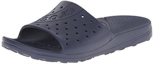 crocs Unisex-Erwachsene Chawaii Slide Dusch-& Badeschuhe Blau (Navy)