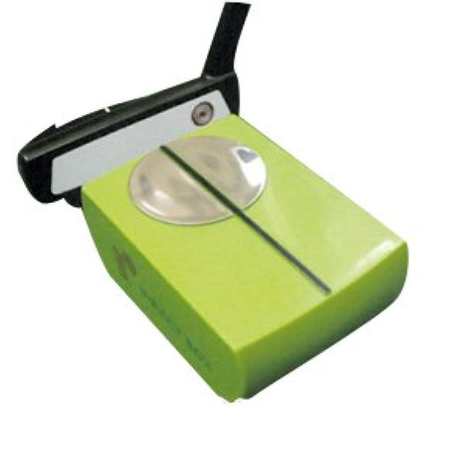 広告確率ことわざU&S パター練習用 マット 初心者 ゴルフ練習器具 ミラー付き