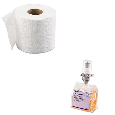 KITBWK6145RCP3486571 - Value Kit - RUBBERMAID COMMERCIAL PROD. Enriched-Foam Soap Refill (RCP3486571) and Boardwalk 6145 Two-Ply Bathroom Tissue (BWK6145) by Unknown