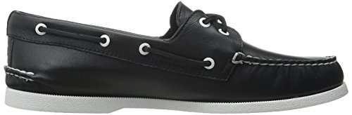 Sperry Top-Sider Mens A/O Boat Shoe Black/White