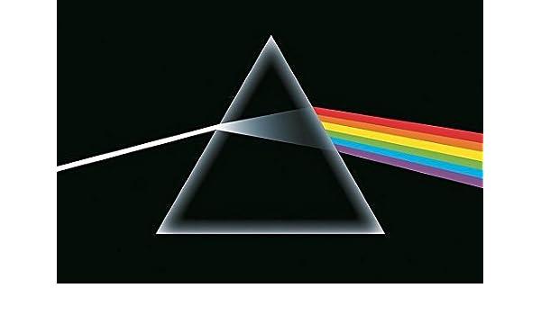 Buyartforless Pink Floyd , Dark Side of The Moon, Prism 36x24 Music Album  Art Print Poster Classic