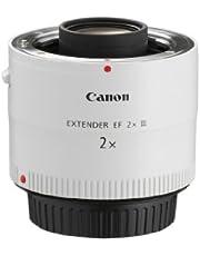 Canon EF 2X III - Adaptador para Objetivos de cámaras Canon EF, Color Blanco