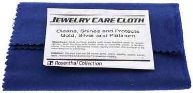 Rosenthal Collection Polishing Cloth, for Silver, Gold, Brass, Most other Metals 12
