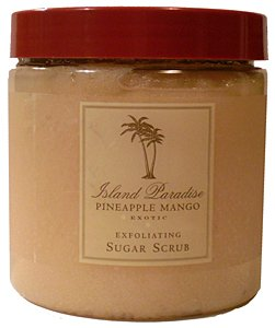 Asquith & Somerset Island Paradise Pineapple Mango Exotic Exfoliating Sugar Scrub 19.4 Oz.