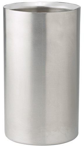 Winco-Double-Wall-Wine-Cooler-Stainless-Steel