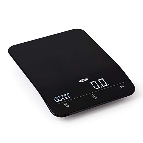 OXO 11212400 Good Grips 6 Lb Timer Precision Scale One Size Black