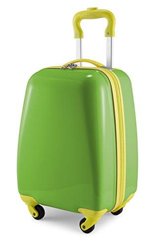 Hauptstadtkoffer Kids Luggage Children's Luggage Suitcase Hard-Side Glossy Multicoloured Applegreen
