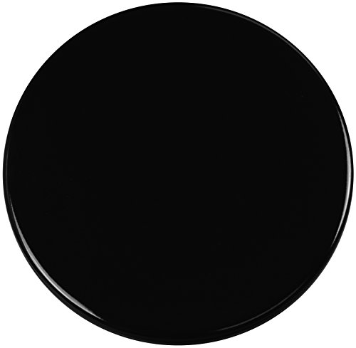 Calypso Basics by Reston Lloyd Heavy Weight Electric Stove Burner Covers, 10-Inch, Black