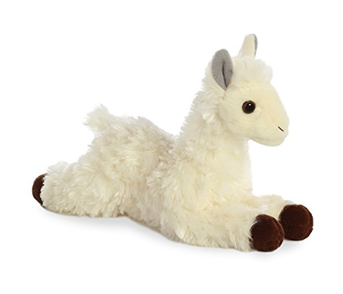 - Aurora 31744 World Mini Flopsie Plush Toy Toy, White
