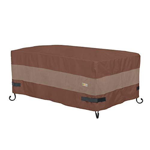 Duck Covers Ultimate Rectangular Fire Pit Cover, 56