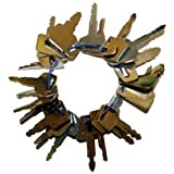 Key Set - 21 Piece, New, Bobcat, Case, Ford, Hitachi, John Deere, Komatsu, Kubota, New Holland