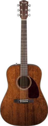 Fender CD-140S Beginner Acoustic Guitar (All Mahogany), Natural