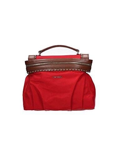 Twinset Faux Leather Handbag - Printemps / Été Rouge / cuir