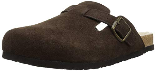 - Northside Women's Hadassa Clog, Dark Brown-Classic, 10 Medium US