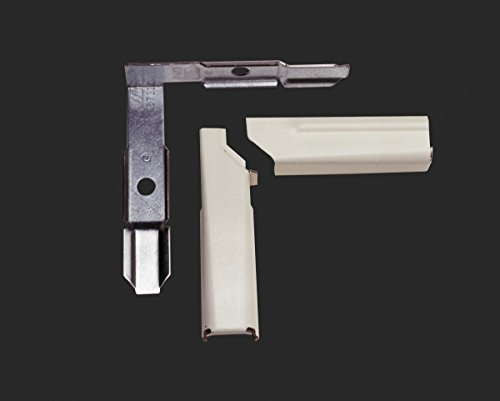 Wiremold Elbow - Wiremold Legrand V5711LHA Inside Elbow 90 Degree Twisted Left Hand 500/700 Cable Raceway, Ivory