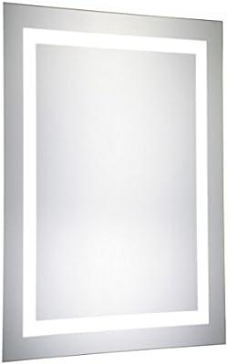 Amazon Com Extra Long Contemporary Silver Wall Mirror