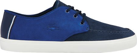 Lacoste Heren Sevrin 116 1 Fashion Sneaker Donkerblauw