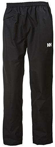 Helly Hansen Men's Dubliner Waterproof Windproof Rain Pant, Black, X-Large