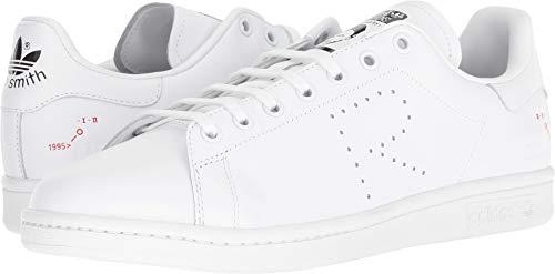 adidas by RAF Simons Unisex RAF Simons Stan Smith Footwear White/Cream White/Core Black 11 M UK Medium