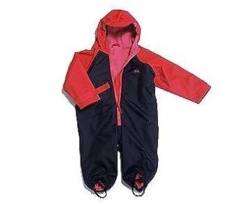 Amazon.com: Togz impermeable lluvia traje – azul marino/rojo ...