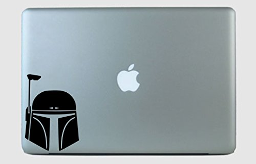 (SimplyVinylized Boba Fett Vinyl Decal Sticker Mint)
