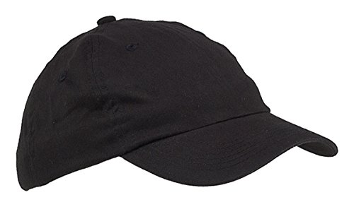 Big Accessories Bagedge (Big Accessories and BAGedge Youth Unconstructed Cap, black, One Size)