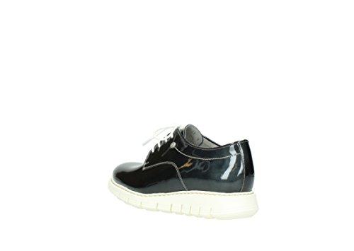 Wolky Leather Jour nbsp;lumière À Confort Anthracite 60210 Du 05025 Lacets Chaussures Patent FrqBUwgxF