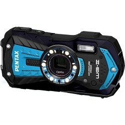 ure Blue Waterproof Shockproof Coldproof 16 MP Digital Camera ()