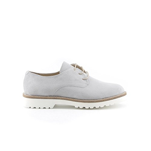 Made In Italia - AIDA Derby Lace-Up Shoes Women Heel 2.5 cm Grigio sWzckpZe
