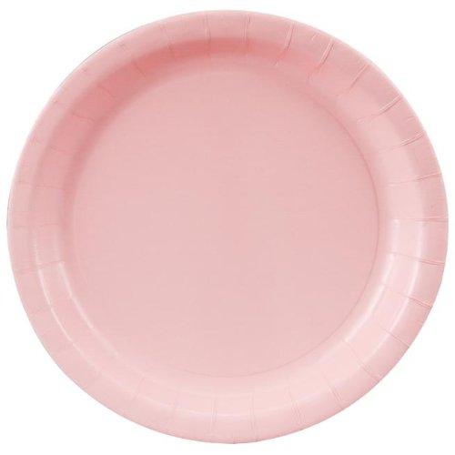 Light Pink Paper Dinner - Plates Paper Pink 9