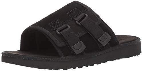 UGG Men's Dune Slide Sandal, Black, 10 Medium US (Mens Sandals Uggs)