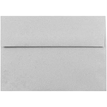Gray Pastel 50 Boxed A7 Envelopes for 5 X 7 Invitations Announcements Weddings fromThe Envelope Gallery