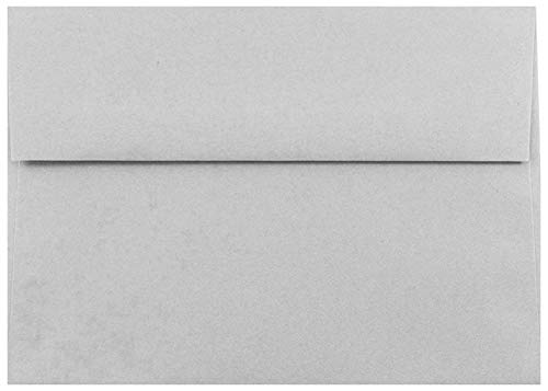 Gray Pastel 25 Pack A7 Envelopes for 5 X 7 Invitations Announcements Showers from The Envelope Gallery Grey