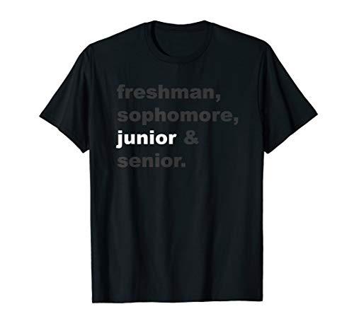 Junior Class Back To School High School Shirt Top -