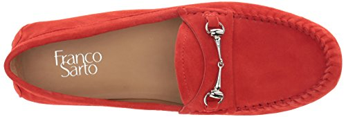 Franco Sarto Women's Galatea Driving Style Loafer Hibiscus Red outlet discount authentic sale fake IULdFM