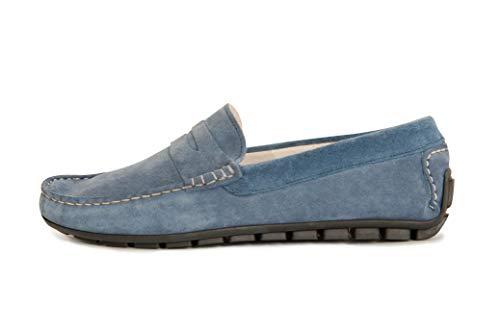 Golden's De Hombre Jeans Cuero Mocasines Para 8vq8w1Bg