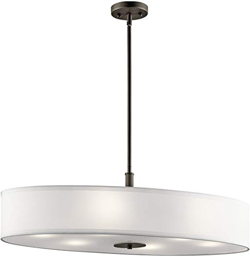 Oval Drum Light Pendant