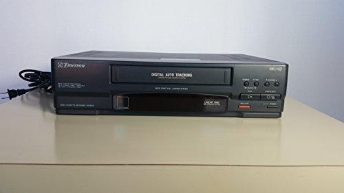 Emerson VCR VCR3002 Video Cassette Recorder Player Digital Auto Tracking (Vcr Player Emerson)