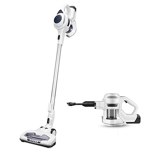 Cordless Vacuum Cleaner Strong 15Kpa 30mins with Advanced Brushless Motor LED 2500mAh 8-Cell Battery 2-in-1 Handheld Stick Vacuum