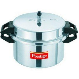 Prestige aluminum pressure cooker, 16 liters. by Prestige popular