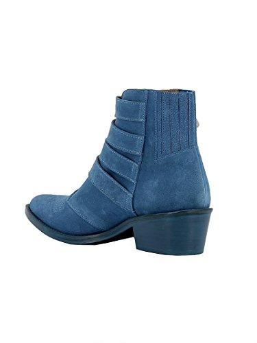 TOGA Femme AJ006LGHT PULLA Bleu Suède Bottines xfrx8Ew5