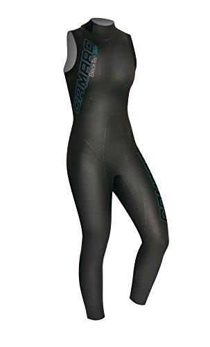 Camaro Women's Blacktip Skin 7/8 Wetsuits, Black, Large/42 by Camaro