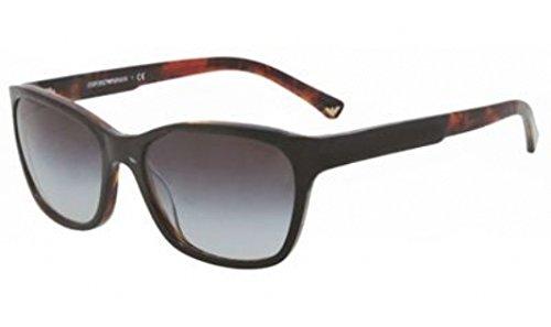 Emporio Armani EA 4004 Women's Sunglasses Black / Havana - Armani Emporio Sunglasses