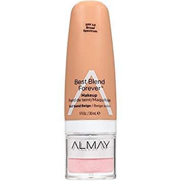 Almay Best Blend Forever Makeup, #160 Sand Beige, 1 fl oz (Pack of 2) (Almay Best Blend Forever Makeup)