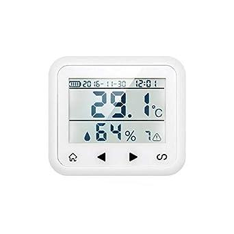 Sensor inalambrico temperatura humedad Alarma hogar TD2 ...