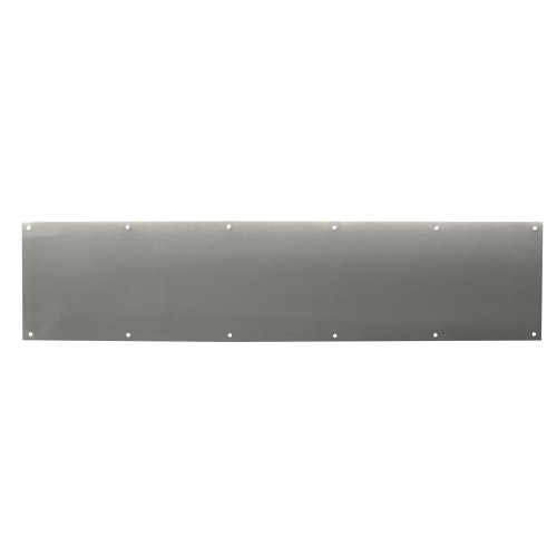 Prime-Line Products J 4619 Door Kick Plate, 8-Inch by 34-Inch, Stainless ()