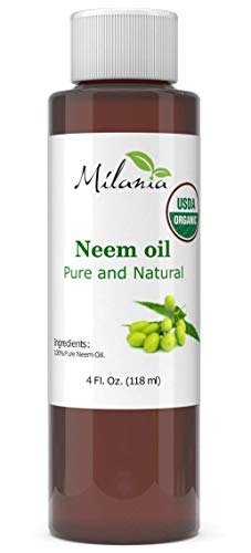 Premium Organic Neem Oil Virgin, Cold Pressed, 100% Pure Grade A. Excellent Quality. Same Day Shipping (4 Fl. Oz.) For Sale