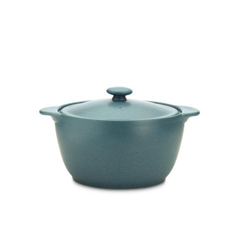 Noritake 8093 714 Colorwave Covered Casserole, 2-Quart, Turquoise ()